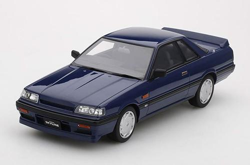 1/18 日産 スカイライン 2000 GTS-R(R31) 1987 (ブルーブラック)[TSMモデル]【送料無料】《11月予約》