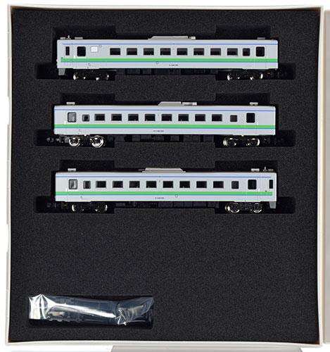 30224 JR北海道キハ143形/キサハ144形 冷改後 増結3両編成セット(動力無し)[グリーンマックス]《取り寄せ※暫定》