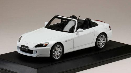 1/18 ホンダ S2000 (AP1-200) グランプリホワイト[ホビージャパン]【送料無料】《08月予約》