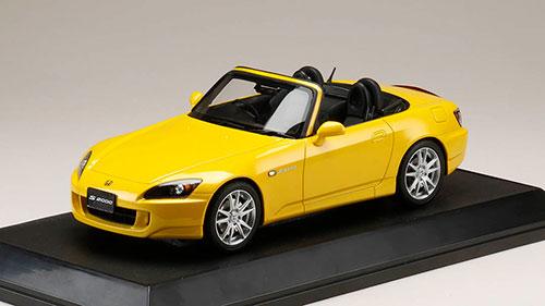 1/18 ホンダ S2000 (AP1-200) ニューインディーイエローパール[ホビージャパン]【送料無料】《08月予約※暫定》
