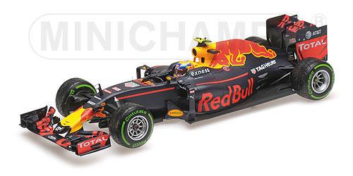 1/18 レッド ブル レーシング タグホイヤー RB12 マックス・フェルスタッペン ブラジルGP 3位入賞 2016[ミニチャンプス]【送料無料】《取り寄せ※暫定》