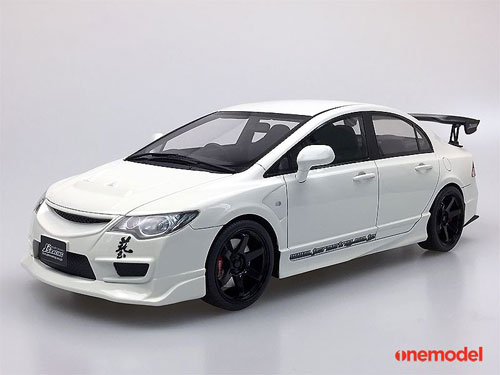 1/18 ホンダ Civic FD2 J's Racing White[ONEMODEL]《取り寄せ※暫定》