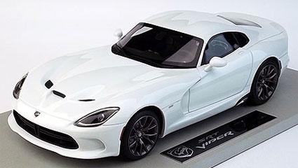 TQ 1/18 Viper GTS SRT 2014 ホワイト[TOPMARQUES]【送料無料】《取り寄せ※暫定》