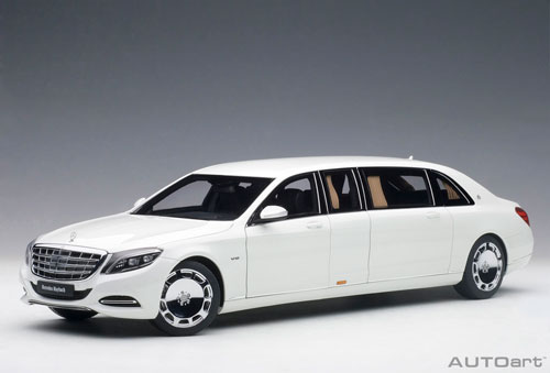 1/18 メルセデス・マイバッハ S 600 プルマン ホワイト[オートアート]【送料無料】《取り寄せ※暫定》