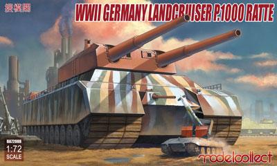 """[ドラゴンモデル] 1/35 WW.II ドイツ軍 """"レオポルド""""プラモデル 列車砲K5 (E) (再販) 《発売済・在庫品》 28cm"""