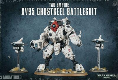 WARHAMMER TAU XV95 GHOSTKEEL BATTLESUIT[Games Workshop]《発売済・在庫品》
