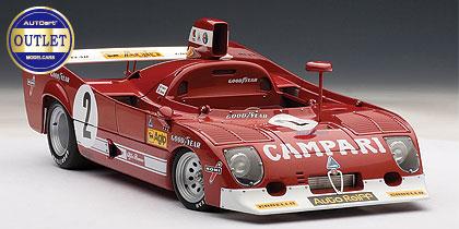 1/18 アルファロメオ 33 TT 12 1975(スパフランコルシャン1000km 優勝) ペスカローロ/ベル #2[オートアート]【送料無料】《取り寄せ※暫定》