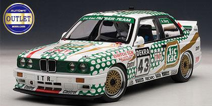 """1/18 BMW M3 (E30) DTM 1991 #43 """"TIC TAC"""" (アレン・バーグ)[オートアート]《取り寄せ※暫定》"""