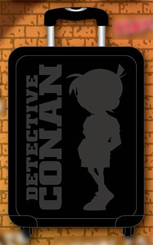 名探偵コナン スーツケース ブラック(再販)[スマイラル]【同梱不可】《取り寄せ※暫定》