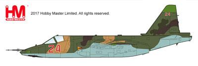 """1/72 Su-25SM フロッグフット """"ロシア航空宇宙軍 シリア 2015""""[ホビーマスター]《04月予約※暫定》"""