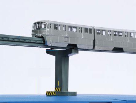 東京モノレール10000形6両編成 ディスプレイモデル(彩色済み) プラモデル[フジミ模型]《取り寄せ※暫定》