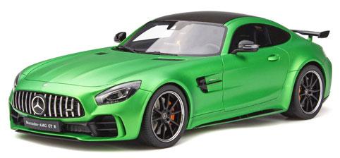 1/18 メルセデス AMG GT R(グリーン)[GTスピリット]《発売済・在庫品》
