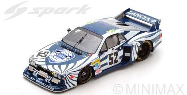 1/18 Beta Monte Carlo No.52 Le Mans 1980 G. Brancatelli - P.Ghinzani - M. Alen[スパーク]《08月仮予約》