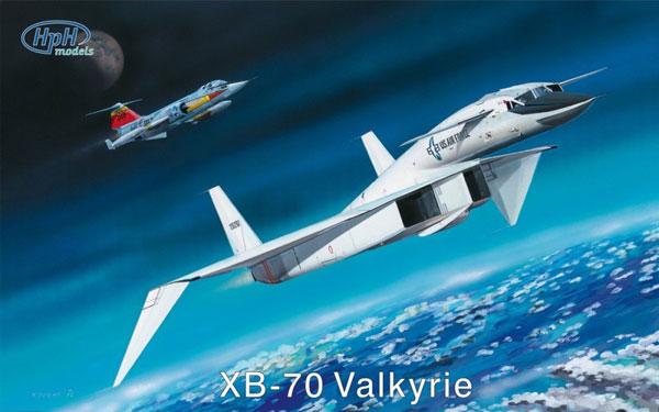 1/48 ノースアメリカンXB-70 ヴァルキリー プラモデル[HPH models]《在庫切れ》