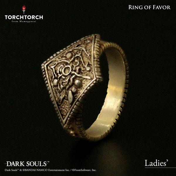 ダークソウル × TORCHTORCH/ リングコレクション: 寵愛の指輪 レディースモデル/11号(再販)[TORCH TORCH]《07月予約》