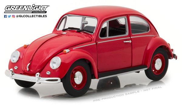 超可爱の 1/18 1967 Volkswagen Beetle Right-Hand Drive - - Candy Volkswagen Apple Apple Red[グリーンライト]《08月仮予約》, ピヨママ倶楽部:6607f0ec --- canoncity.azurewebsites.net