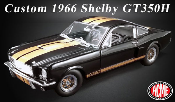 1/18 Custom 1966 Shelby GT350H[ACME]【送料無料】《08月仮予約》