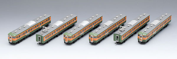 98989 限定品 JR 115 1000系近郊電車(高崎車両センター・ありがとう115系)セット(6両)[TOMIX]【送料無料】《発売済・在庫品》