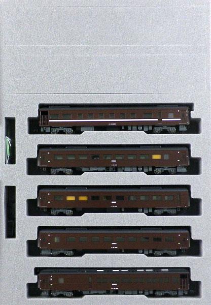 10-1500 35系4000番台 〈SL「やまぐち」号〉 5両セット[KATO]【送料無料】《発売済・在庫品》