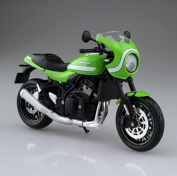 1 12 Complete Model Motorcycle KAWASAKI Z900RS Cafe Vintage Lime GreenPre Order1