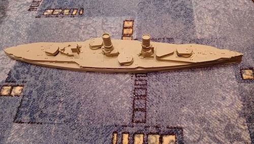 1/350 独巡洋戦艦フォンデアタン・1910・WW1フルハル レジンキット[コンブリック]【送料無料】《在庫切れ》