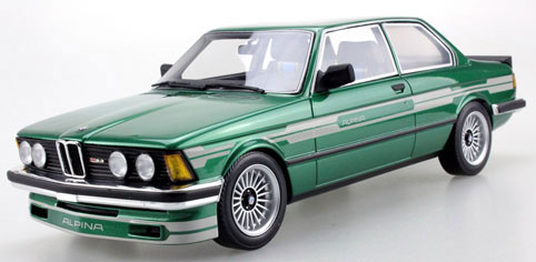 "1/18 ""Lucky Step""シリーズ BMW 323 アルピナ(グリーン)[TOPMARQUES]【送料無料】《取り寄せ※暫定》"