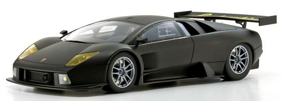 KYOSHOオリジナル ランボルギーニシリーズ 1/18 Lamborghini Murcielago R-GT(マットブラック)[京商]《取り寄せ※暫定》