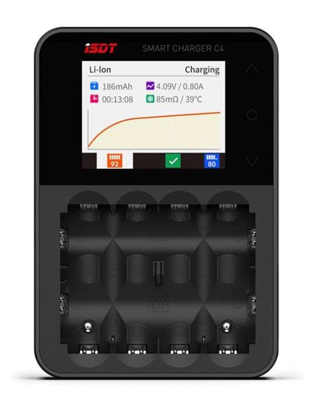 充電器 ISDT C4 Smart Charger[ジーフォース]《取り寄せ※暫定》