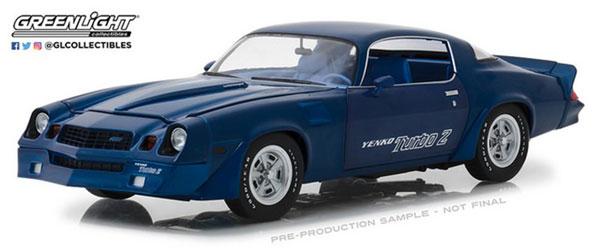 1/18 1981 Chevrolet Z/28 Yenko Turbo Z - Blue[グリーンライト]《08月仮予約》