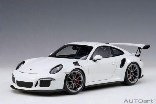 1/18 ポルシェ 911 (991) GT3 RS ホワイト[オートアート]《取り寄せ※暫定》