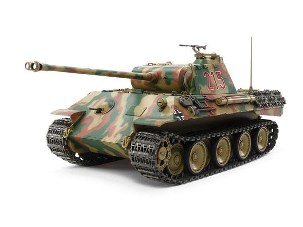 1/25RCT ドイツ戦車 パンサーA (専用プロポ付き)[タミヤ]《発売済・在庫品》