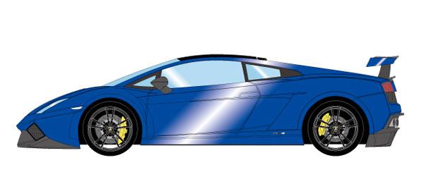 1/43 ランボルギーニ ガヤルド LP570-4 スーパートロフェオストラダーレ 2011 キャンディブルー[メイクアップ]【送料無料】《08月予約※暫定》