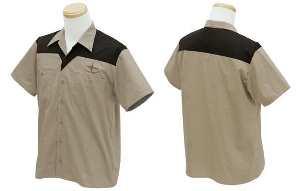 機動戦士ガンダム 連邦兵 デザインワークシャツ/L(再販)[コスパ]《08月予約》