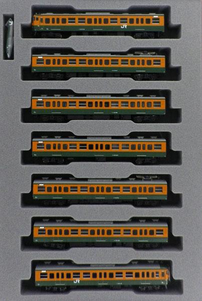 10-1481 115系1000番台 湘南色(JR仕様) 7両基本セット[KATO]【送料無料】《発売済・在庫品》
