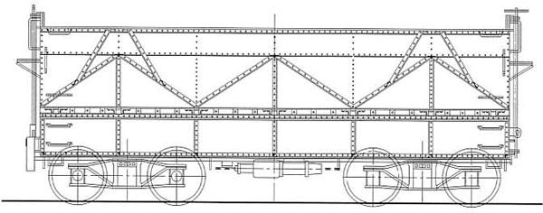 16番 国鉄 セキ1形 石炭車 タイプA 組立キット[ワールド工芸]《11月予約》