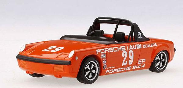 1/43 ポルシェ 914-4 American Road Race Chanpionship 1972 #29 Ritchie Ginther[TSMモデル]《08月予約※暫定》