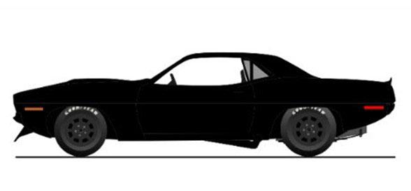 1/18 1970 PLYMOUTH BARRACUDA STREET CAR-BLACK[ACME]《11月仮予約》
