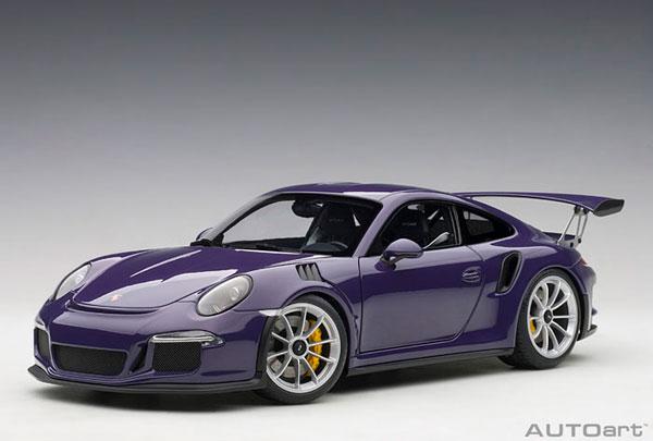 1/18 ポルシェ 911 (991) GT3 RS (バイオレット)[オートアート]《取り寄せ※暫定》