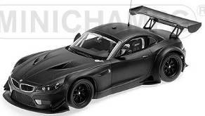 1/43 BMW Z4 GT3 プレーンボディ サテンブラック[ミニチャンプス]《09月仮予約》