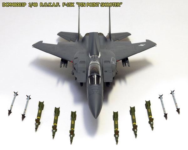 1/48 F-15K 「ピンポイントシューター」 プラモデル[D-コーポレーション]《取り寄せ※暫定》