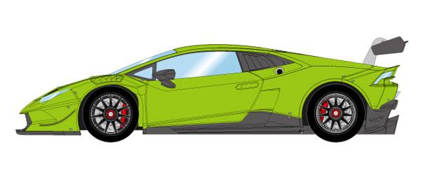 1/43 ランボルギーニ ウラカン LP620-2 スーパートロフェオ 2014 ヴェルデマンティス[メイクアップ]【送料無料】《09月予約※暫定》