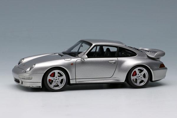 1/43 ポルシェ 911(993) ターボ 1995 シルバー[メイクアップ]【送料無料】《09月予約※暫定》