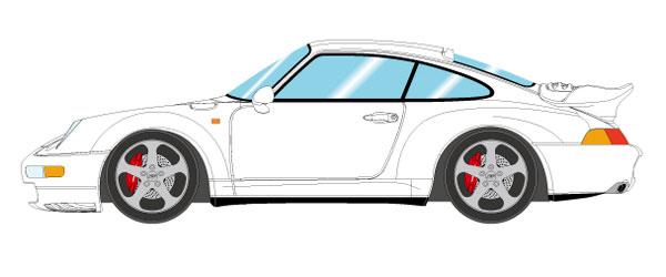 1/43 ポルシェ 911(993) ターボ 1995 ホワイト[メイクアップ]【送料無料】《09月予約※暫定》
