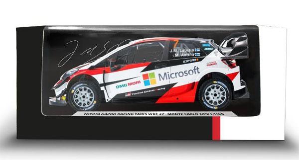 1/43 YARIS WRC #7[トヨタ]《取り寄せ※暫定》