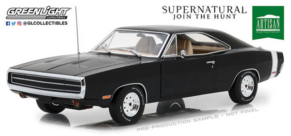 1/18 Artisan Collection - Supernatural (2005-Current TV Series) - 1970 Dodge Charger[グリーンライト]《09月仮予約》