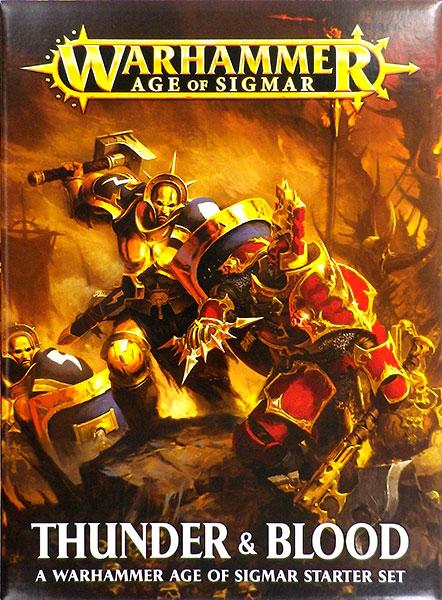 『1年保証』 WARHAMMER AGE OF OF SIGMAR: THUNDER& BLOOD& (英)[Games Workshop]《発売済 WARHAMMER・在庫品》, スポーツダイアリー:943c99dd --- sumaho-game.xyz