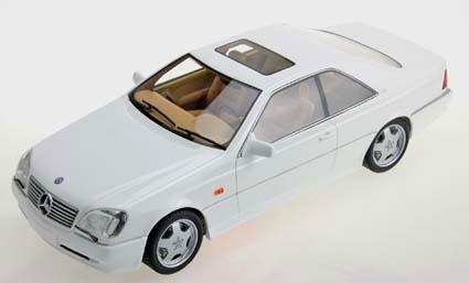"1/18 ""Lucky Step""シリーズ AMGメルセデス CL600 7.0クーペ 1998 ホワイト[TOPMARQUES]【送料無料】《08月仮予約》"