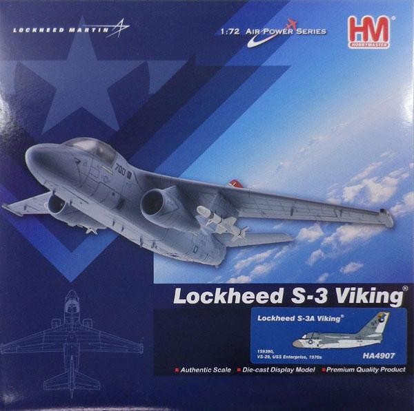 """1/72 S-3A バイキング """"USS エンタープライズ VS-29""""[ホビーマスター]《取り寄せ※暫定》"""