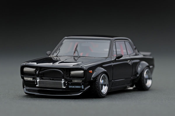 1/43 Nissan Skyline 2000 GT-R (KPGC10) Black Metallic[イグニッションモデル]《11月予約※暫定》