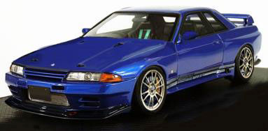 1/43 TOP SECRET GT-R (VR32) Blue Metallic[イグニッションモデル]《発売済・在庫品》